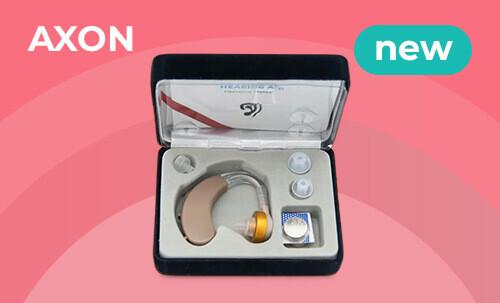 Новое поступление: слуховой аппарат Axon V-163